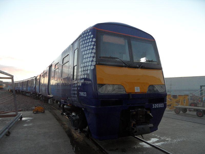 Class 320 TBOX overhaul works update